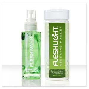 Fleshlight Fleshwash & Renewing Powder Combo
