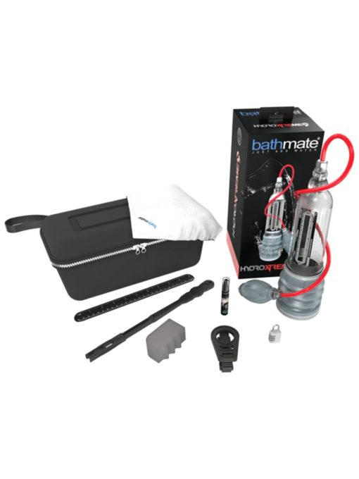 Bathmate HydroXtreme9 Penis Pump (7-9 Inches) Clear